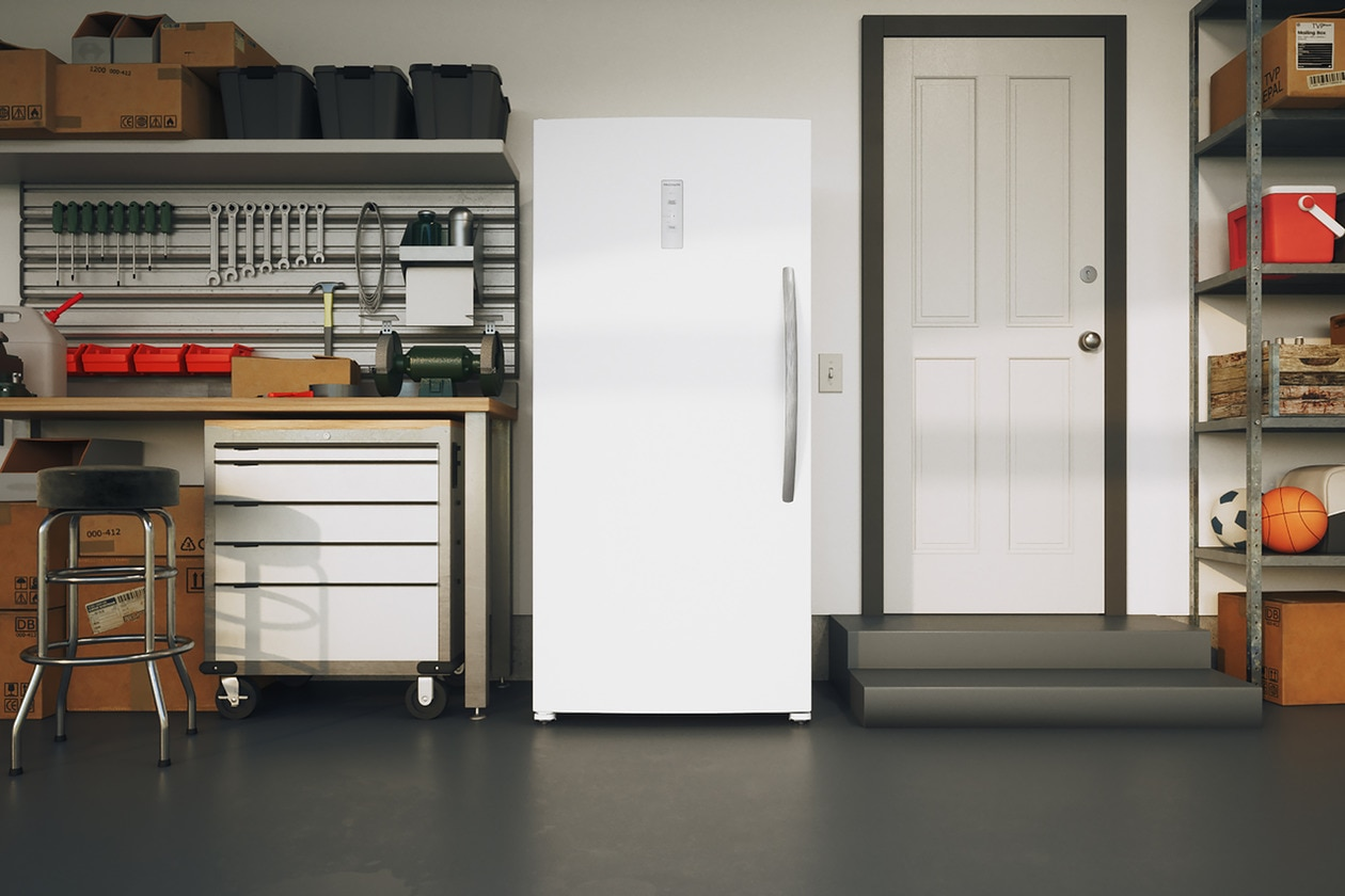 Model: FFFU20F1UW   Frigidaire 20.0 Cu. Ft Upright Freezer