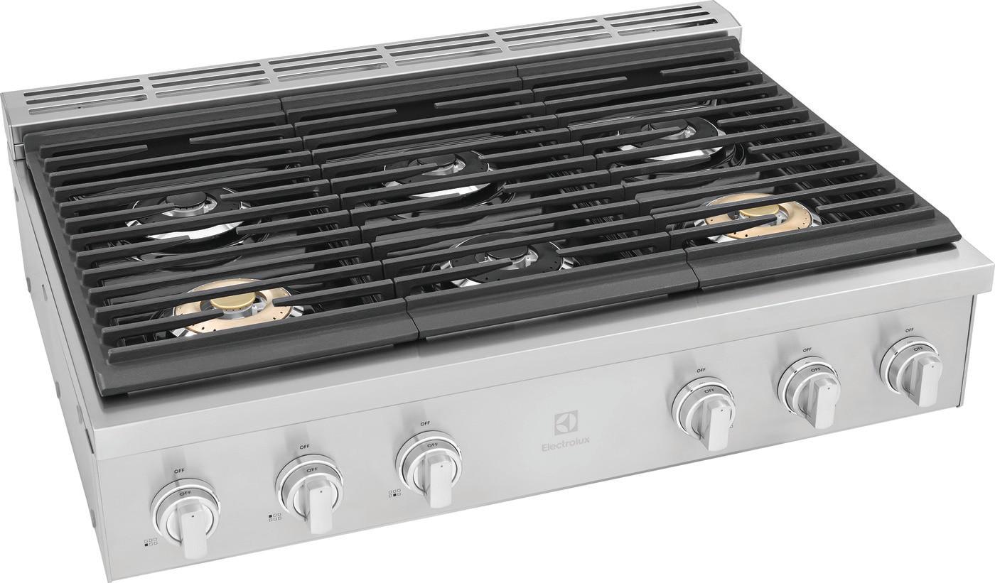 """Model: ECCG3672AS   Electrolux 36"""" Gas Rangetop"""