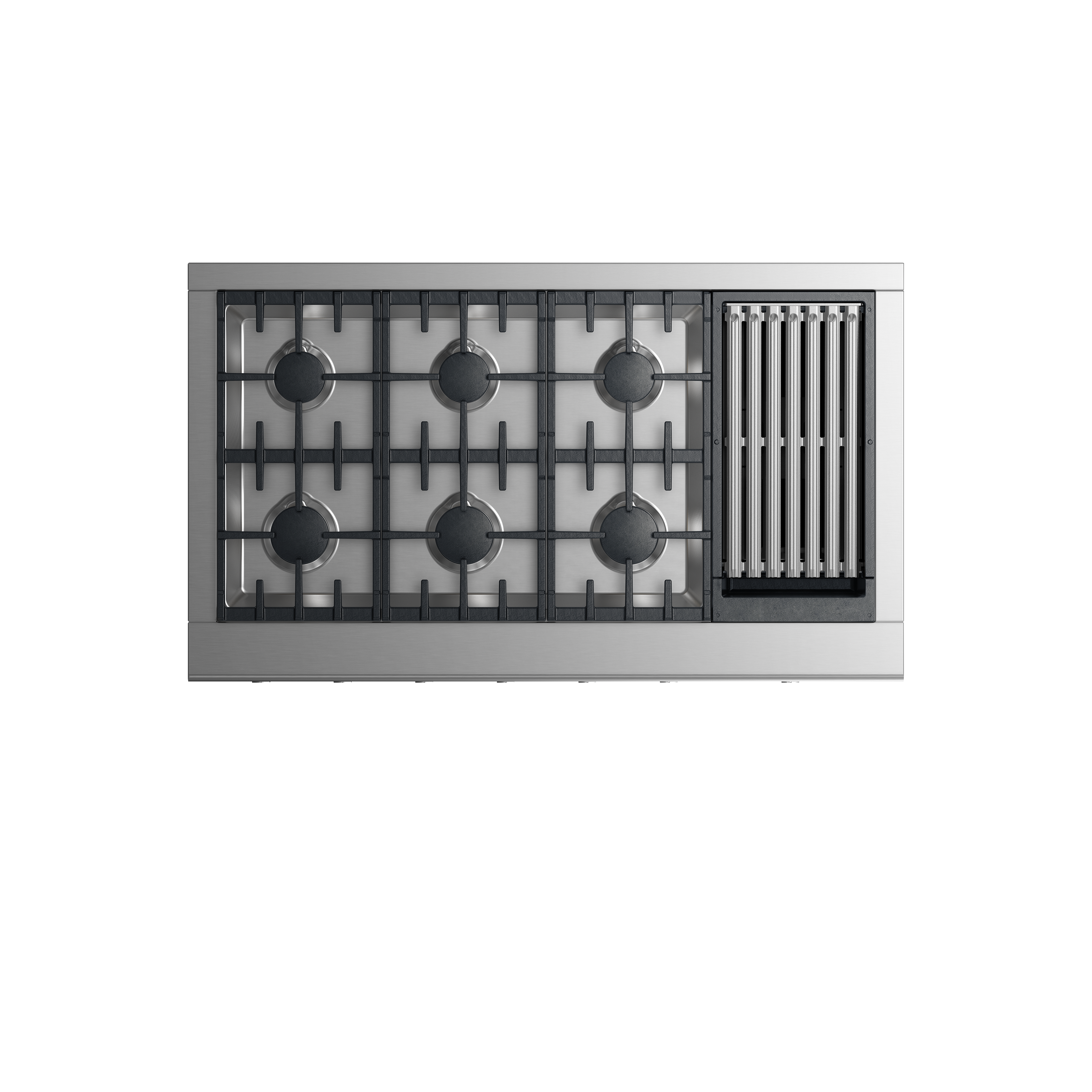 """Fisher and Paykel Gas Rangetop, 48"""", Grill"""