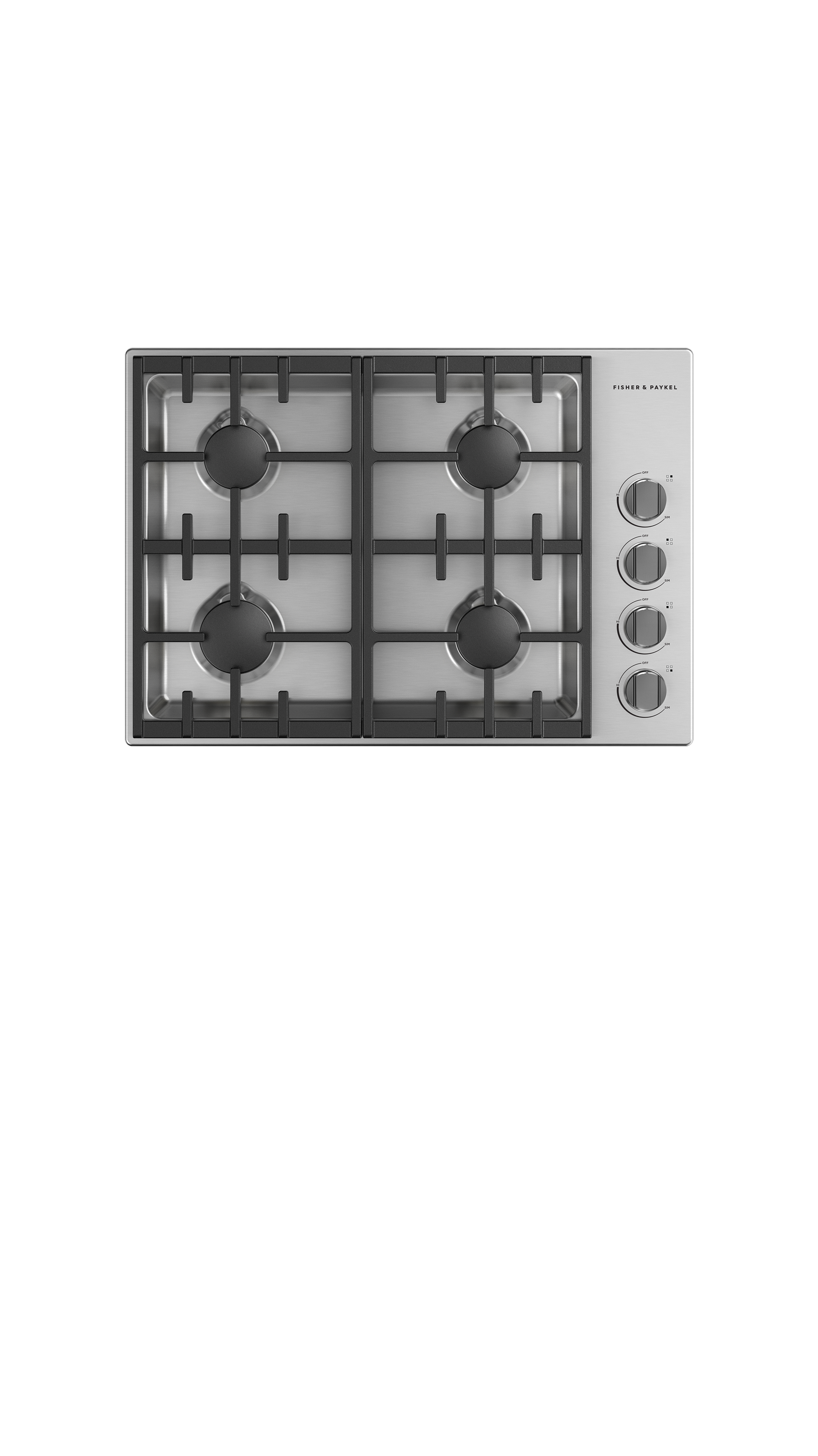 """Fisher and Paykel Gas Cooktop, 30"""", LPG"""