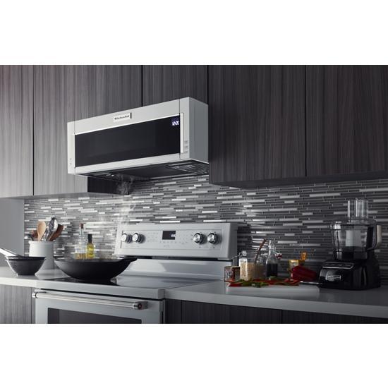 Model: KMLS311HWH | KitchenAid 1000-Watt Low Profile Microwave Hood Combination
