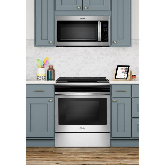 Model: WMH32519HZ | Whirlpool 1.9 cu. ft. Capacity Steam Microwave with Sensor Cooking