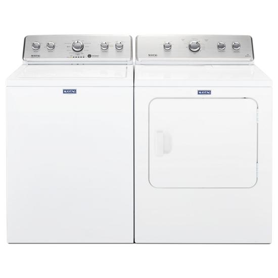 Model: MEDC465HW | Maytag Large Capacity Top Load Dryer with Wrinkle Control – 7.0 cu. ft.