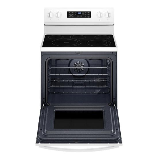 Model: WFE550S0LW | Whirlpool 5.3 Cu. Ft. Whirlpool® Electric 5-in-1 Air Fry Oven