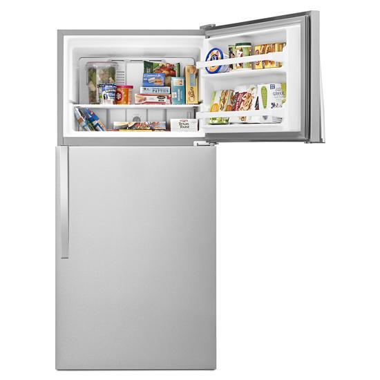 Model: WRT108FFDM   Whirlpool 30-inch Wide Top Freezer Refrigerator - 18 Cu. Ft.