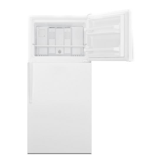 Model: WRT108FFDW | Whirlpool 30-inch Wide Top Freezer Refrigerator - 18 Cu. Ft.