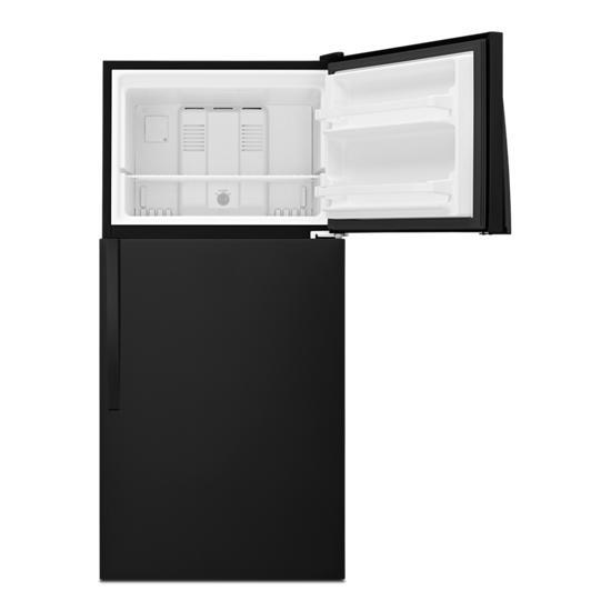 Model: WRT138FFDB | Whirlpool 30-inch Wide Top Freezer Refrigerator - 18 Cu. Ft.