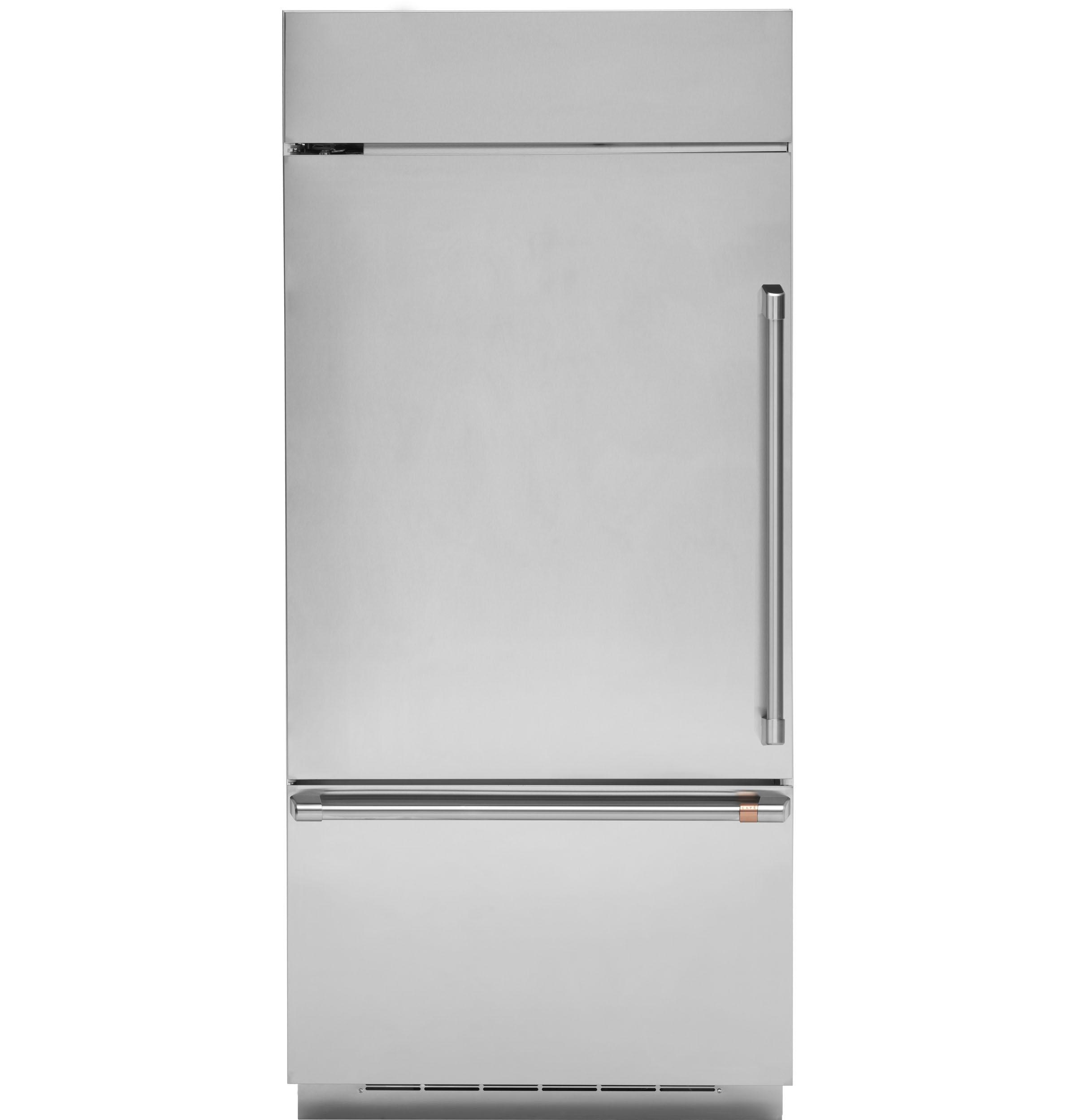 Model: CDB36LP2PS1   Cafe Café™ 21.3 Cu. Ft. Built-In Bottom-Freezer Refrigerator