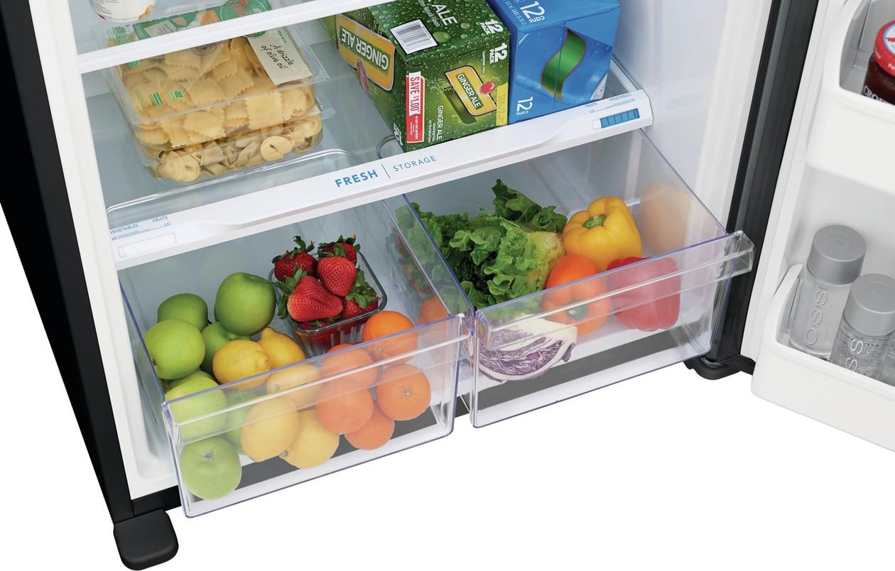 Model: FFTR1835VW   Frigidaire 18.3 Cu. Ft. Top Freezer Refrigerator