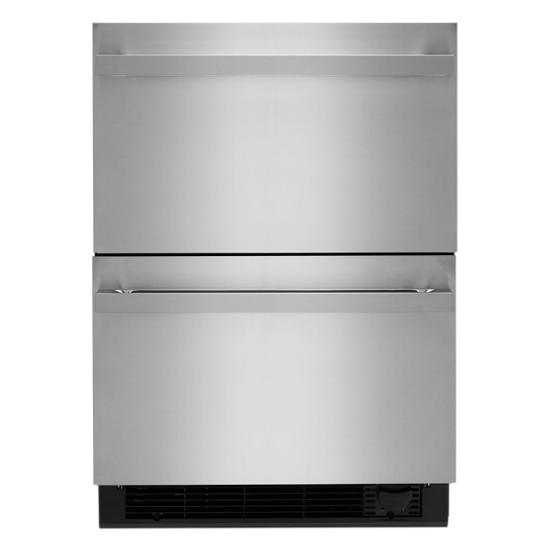 "Jenn-Air NOIR 24"" Double Drawer Refrigerator/Freezer"