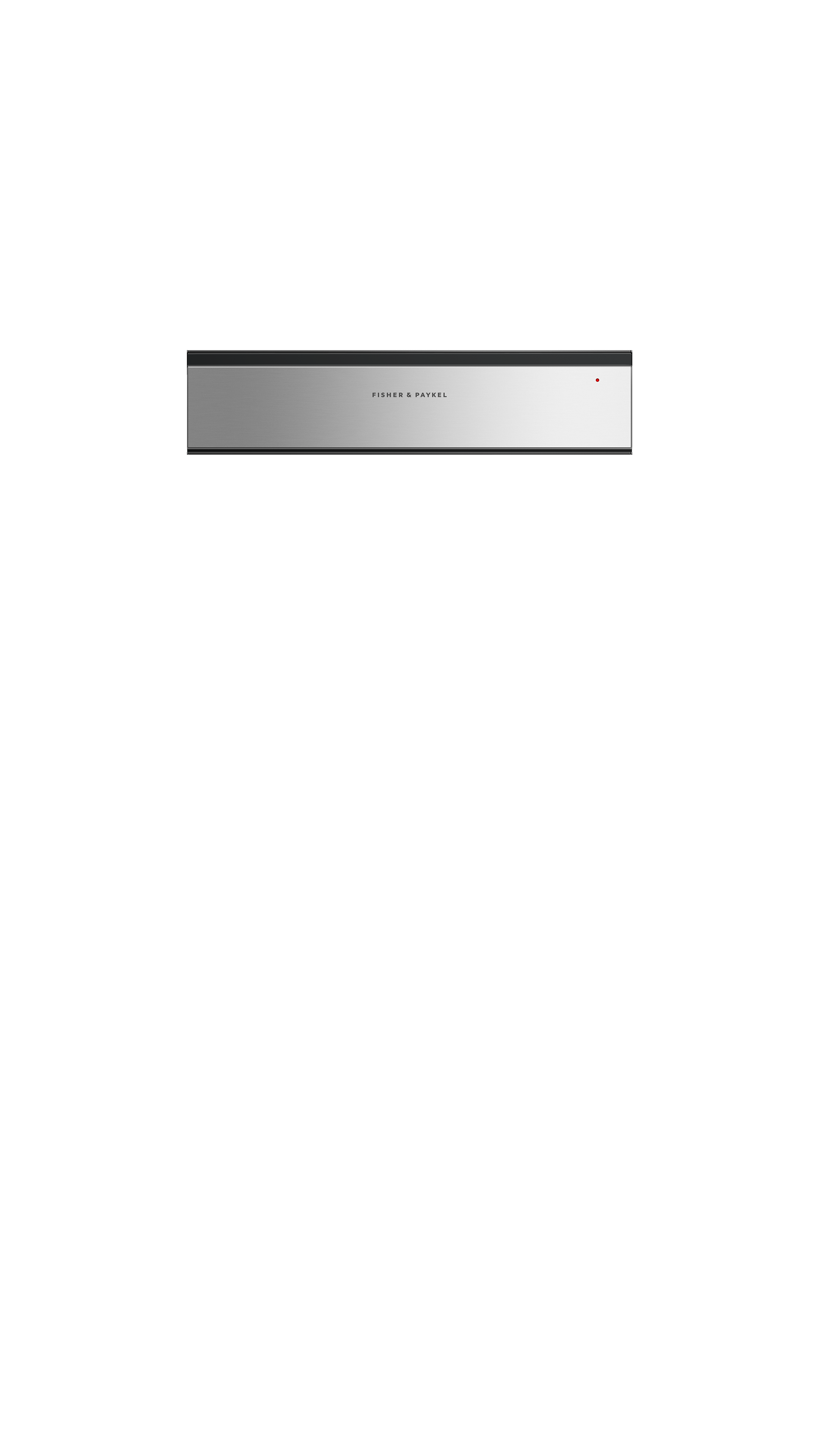 """Fisher and Paykel Warming Drawer, 24"""""""