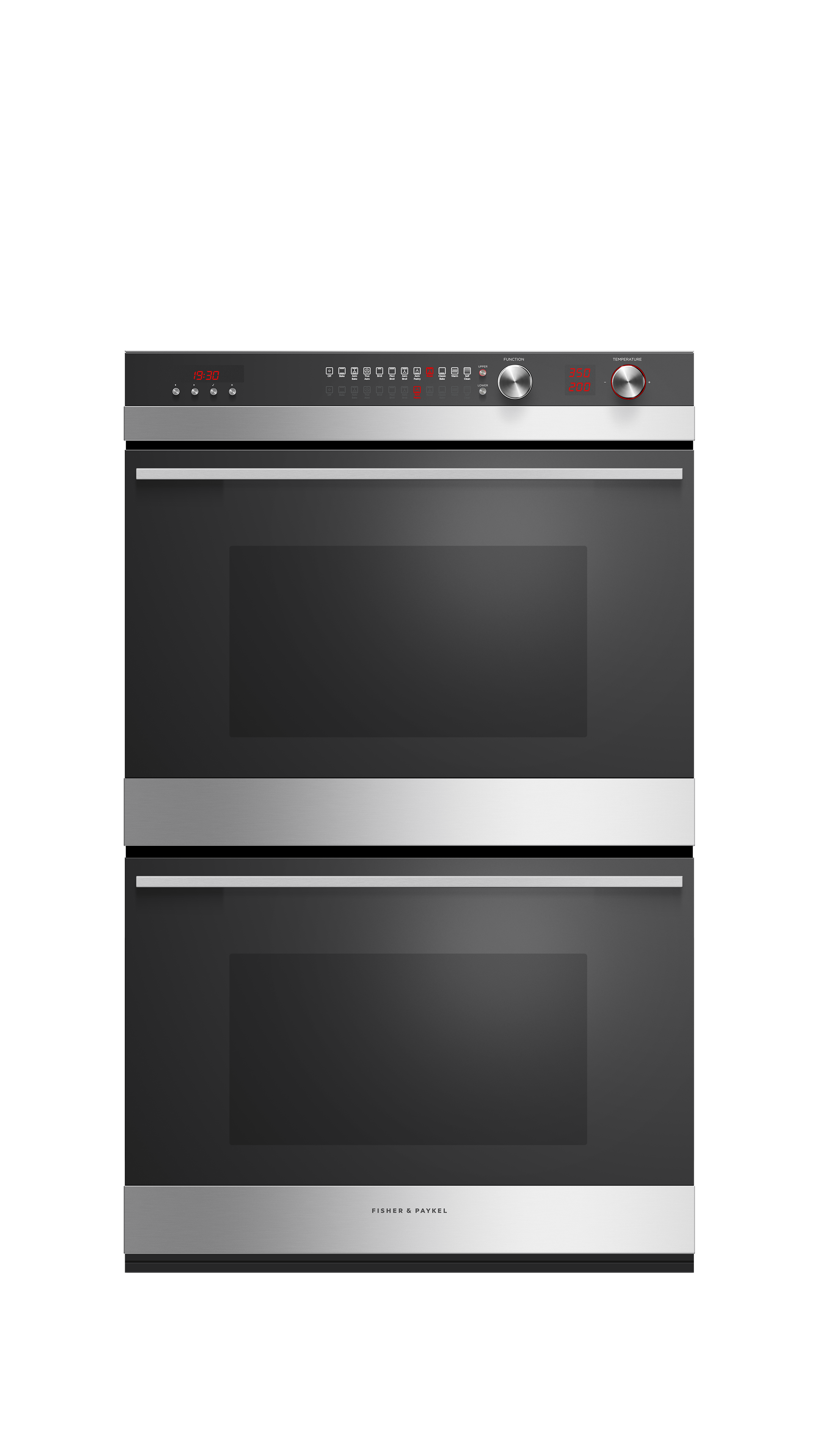 """Fisher and Paykel Double Oven, 30"""", 11 Function, Self-cleaning"""
