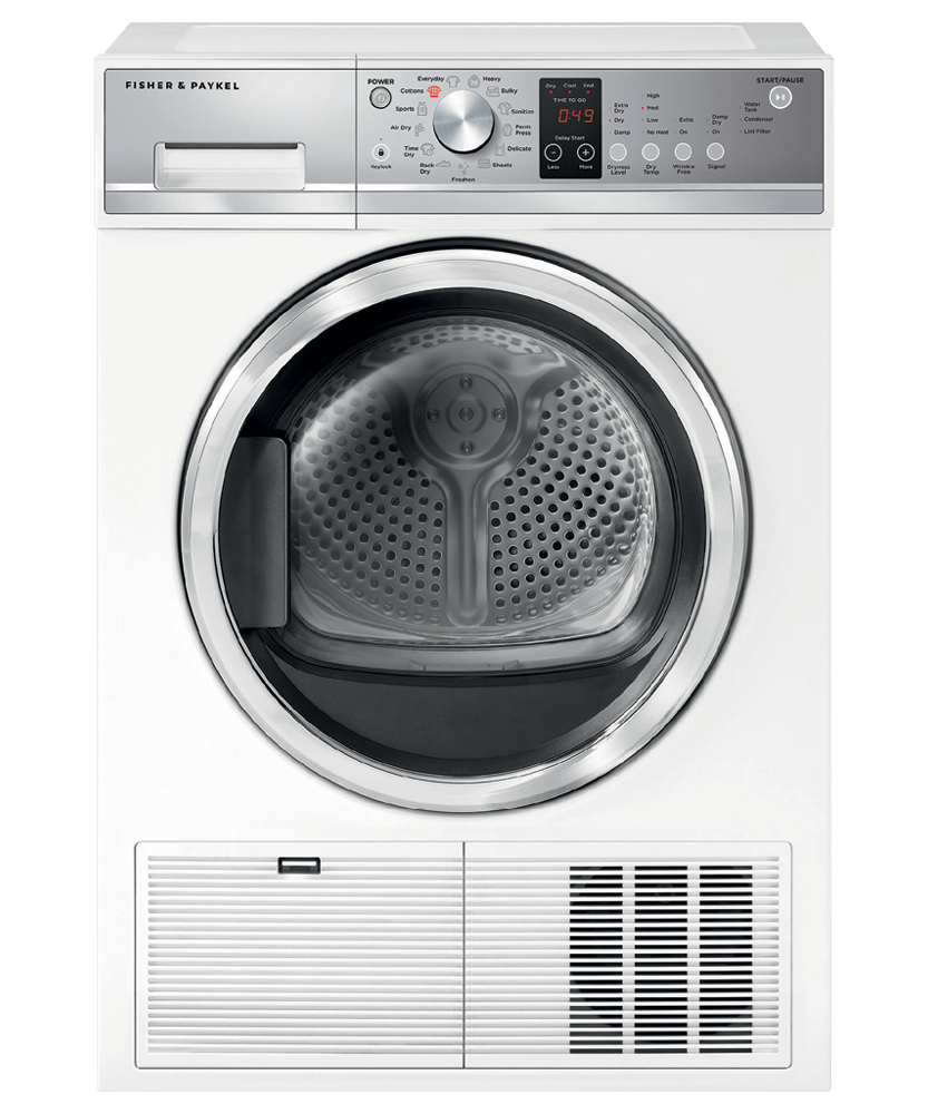 Model: DE4024P1   Fisher and Paykel Condensing Dryer, 4.0 cu ft