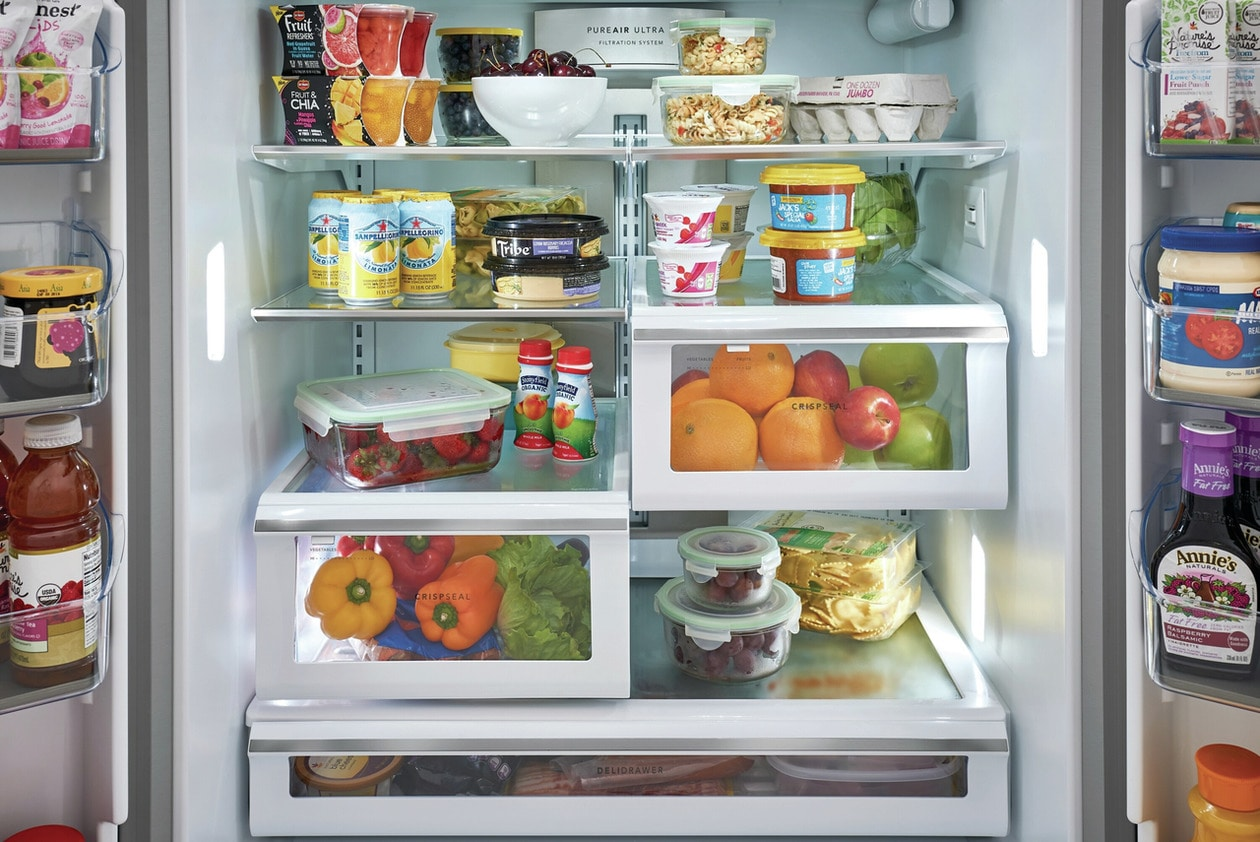 Model: FGHD2368TF   Frigidaire Gallery 21.7 Cu. Ft. Counter-Depth French Door Refrigerator