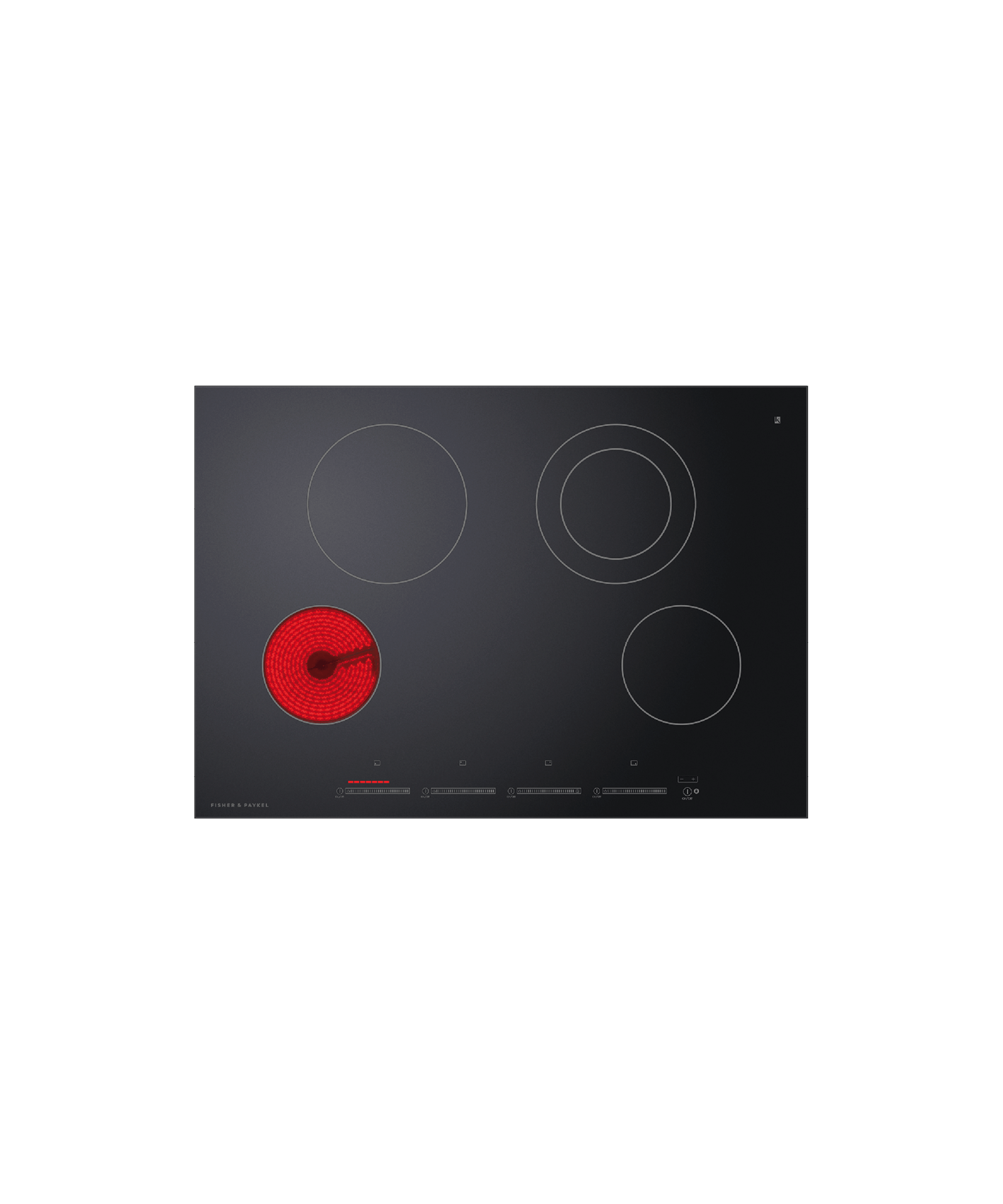 """Fisher and Paykel Electric Cooktop, 30"""""""