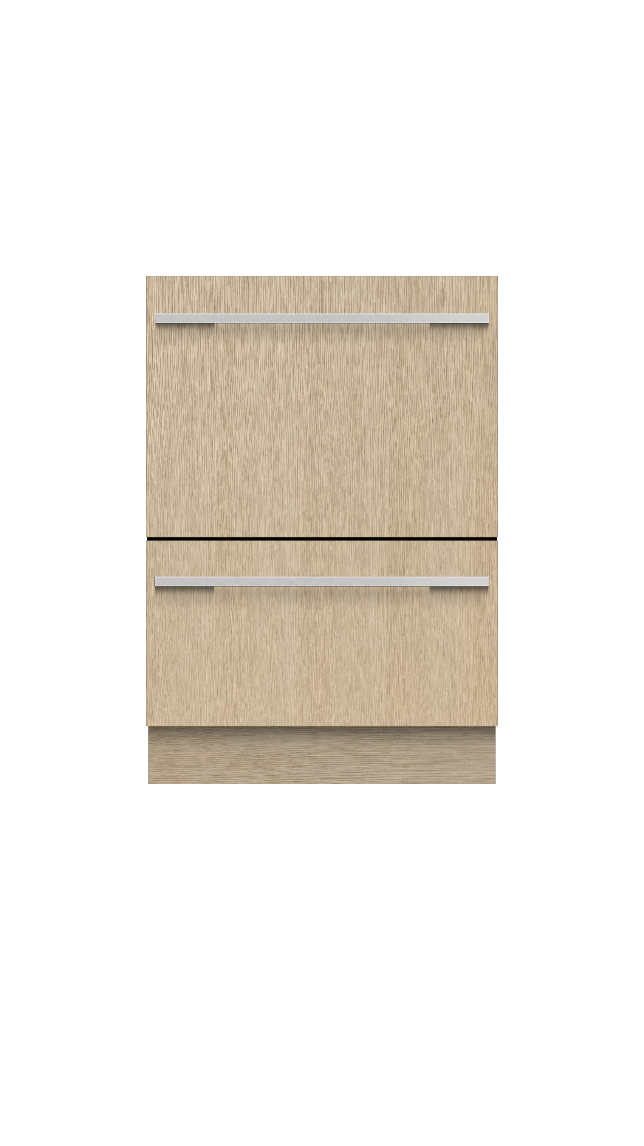 Fisher and Paykel Integrated Double DishDrawer™ Dishwasher, Tall, Sanitize