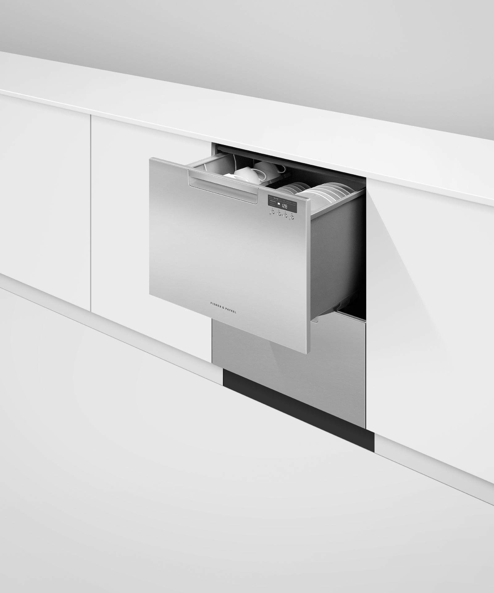 Model: DD24DCTX9 N   Fisher and Paykel Double DishDrawer™ Dishwasher, Tall, Sanitize
