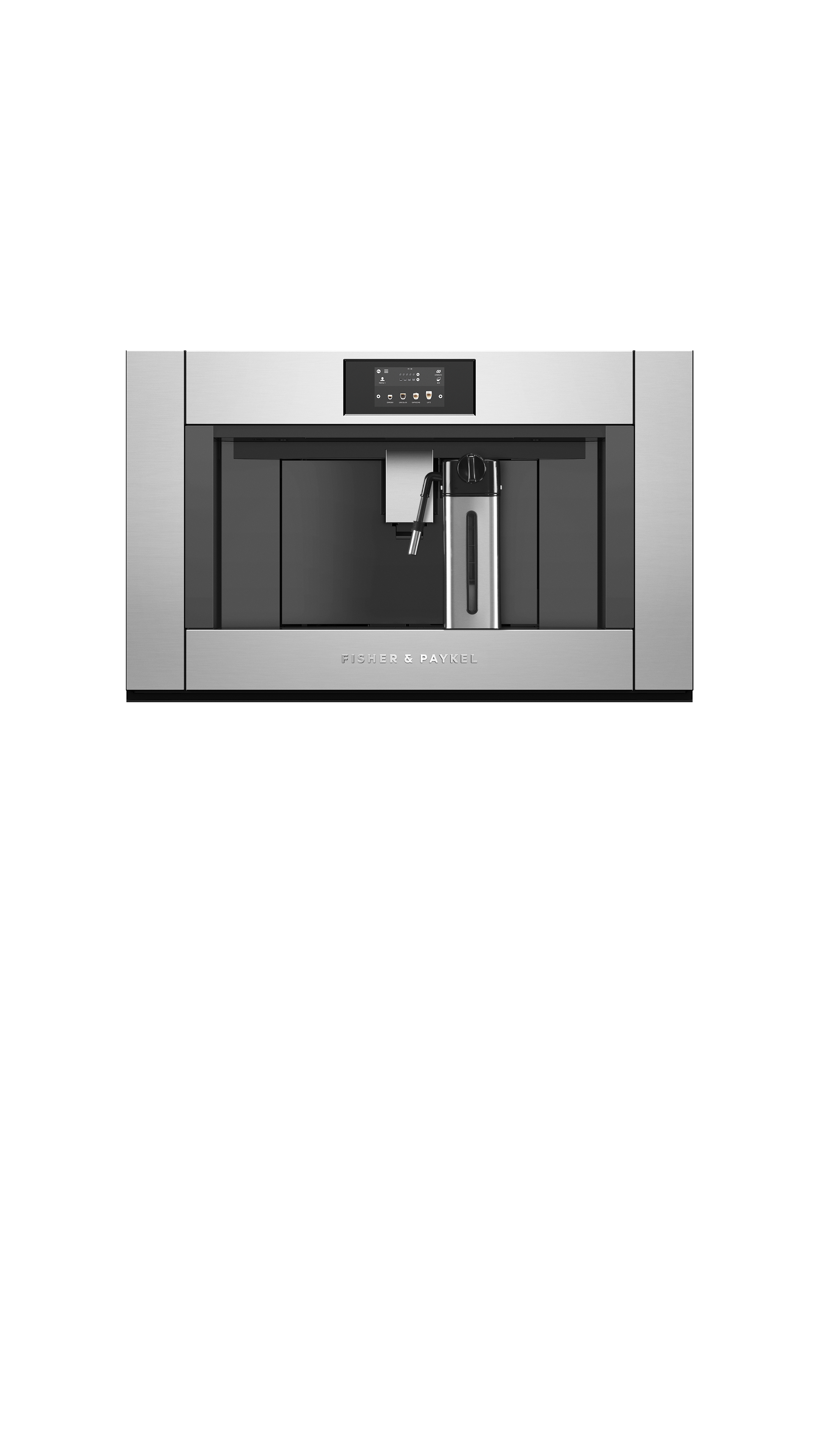 """Fisher and Paykel Built-in Coffee Maker, 30"""""""