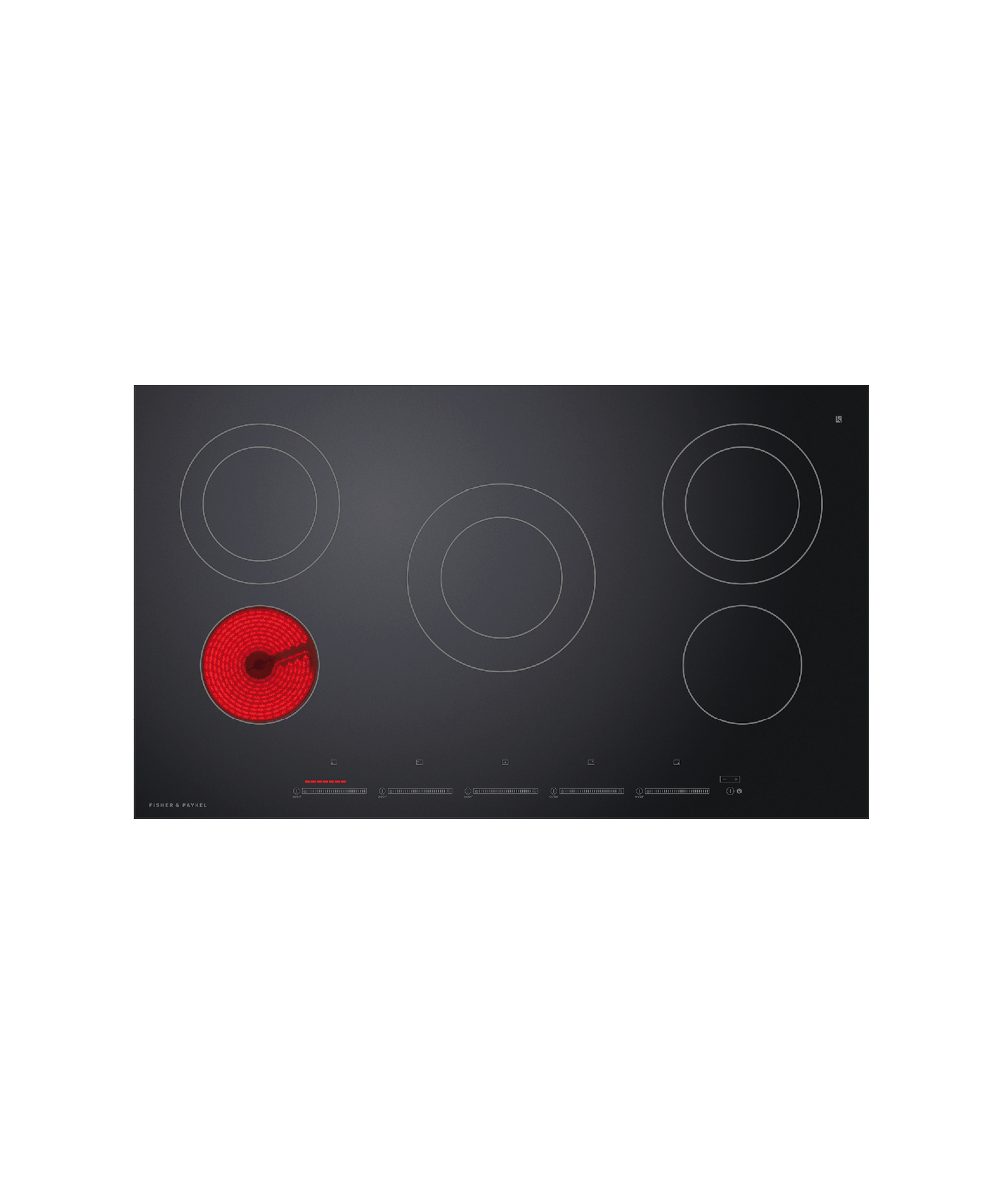 """Fisher and Paykel Electric Cooktop, 36"""""""