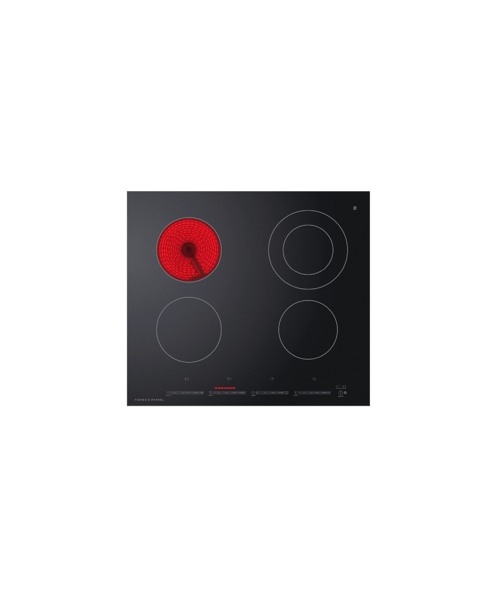 """Fisher and Paykel Electric Cooktop, 24"""""""