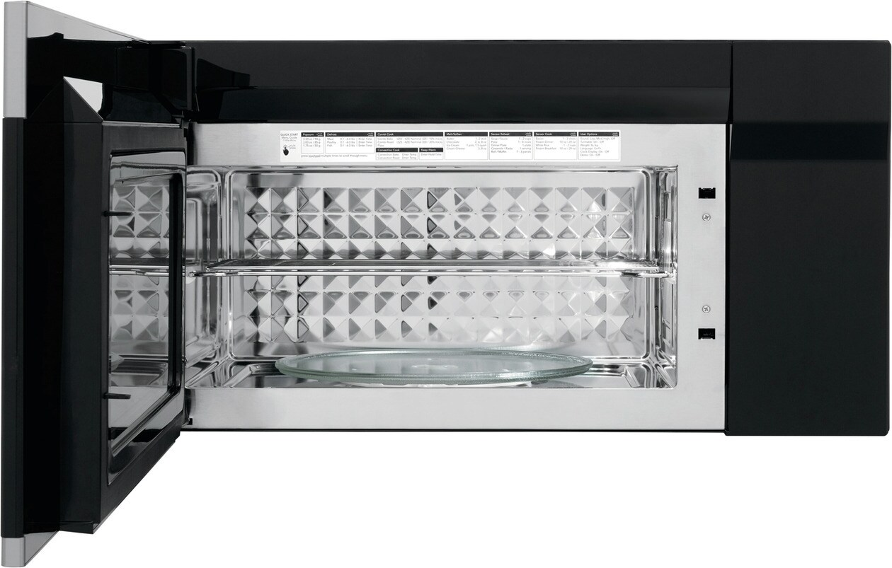 Model: FGBM15WCVF   Frigidaire Gallery 1.5 Cu. Ft. Over-The-Range Microwave with Convection