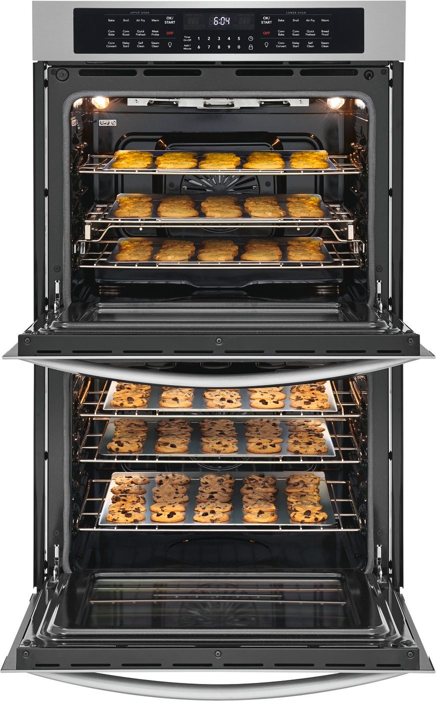 """Model: FGET3069UF   Frigidaire Gallery 30"""" Double Electric Wall Oven with Air Fry"""