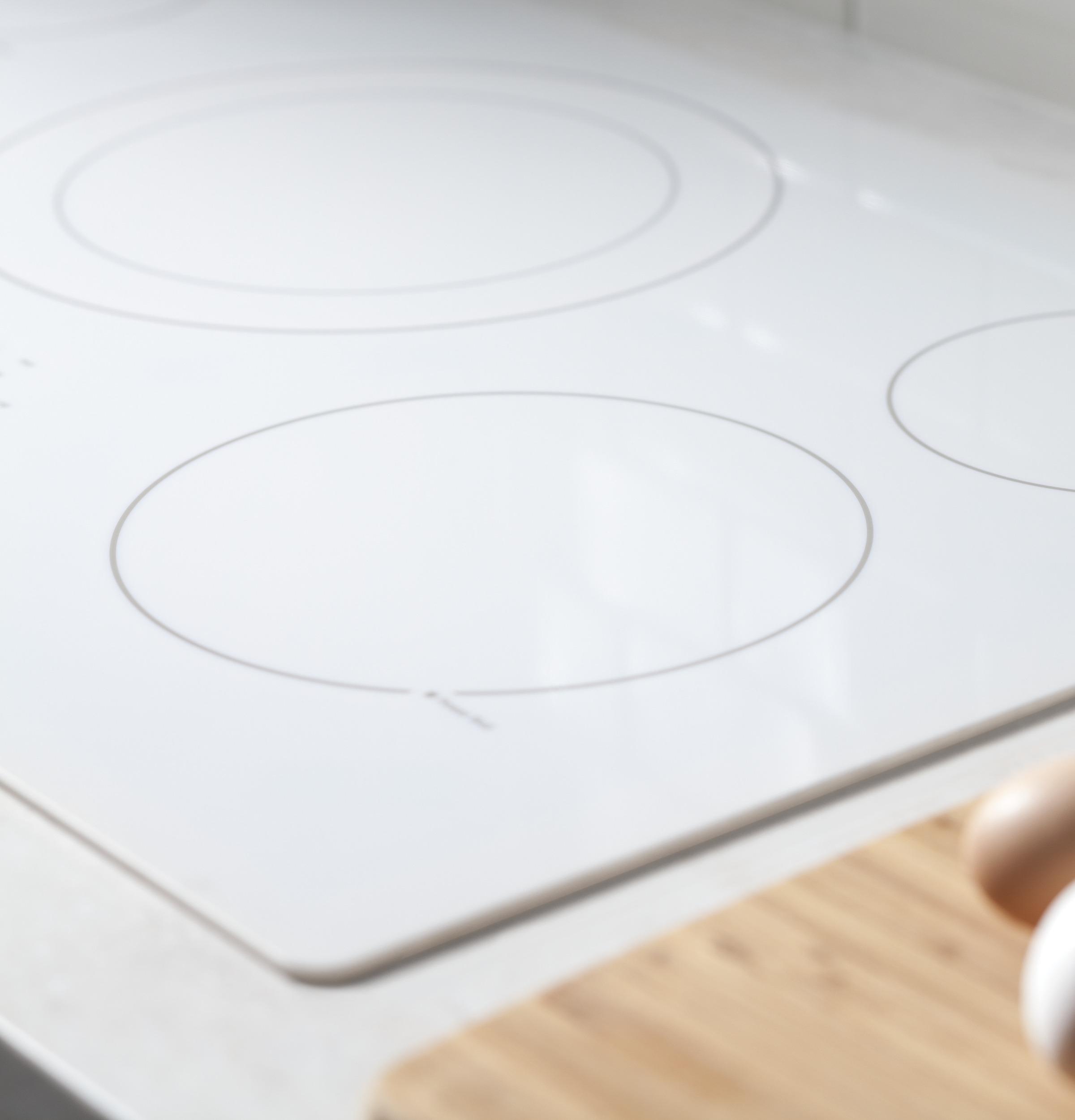 "Model: JP3036TLWW | GE GE® 36"" Built-In Knob Control Electric Cooktop"