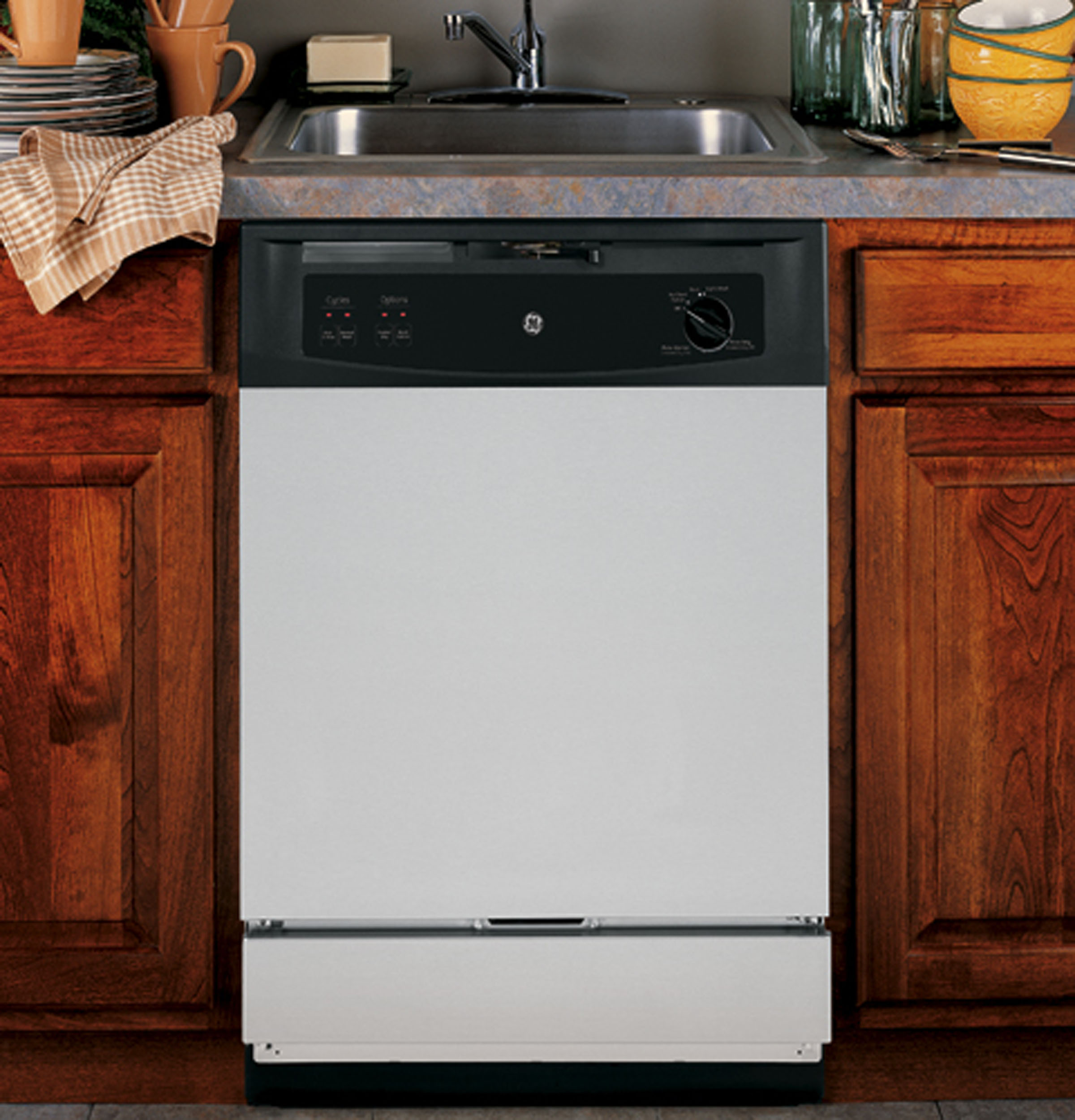 Model: GSM2260VSS | GE GE Spacemaker® Under-the-Sink Dishwasher