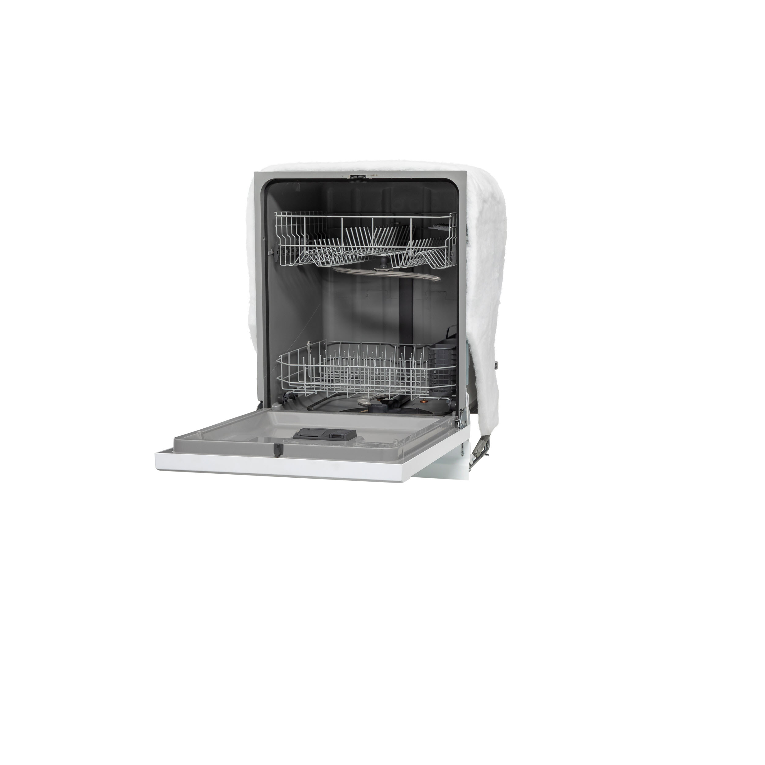 Model: GDF535PGRWW | GE GE® Dishwasher with Front Controls