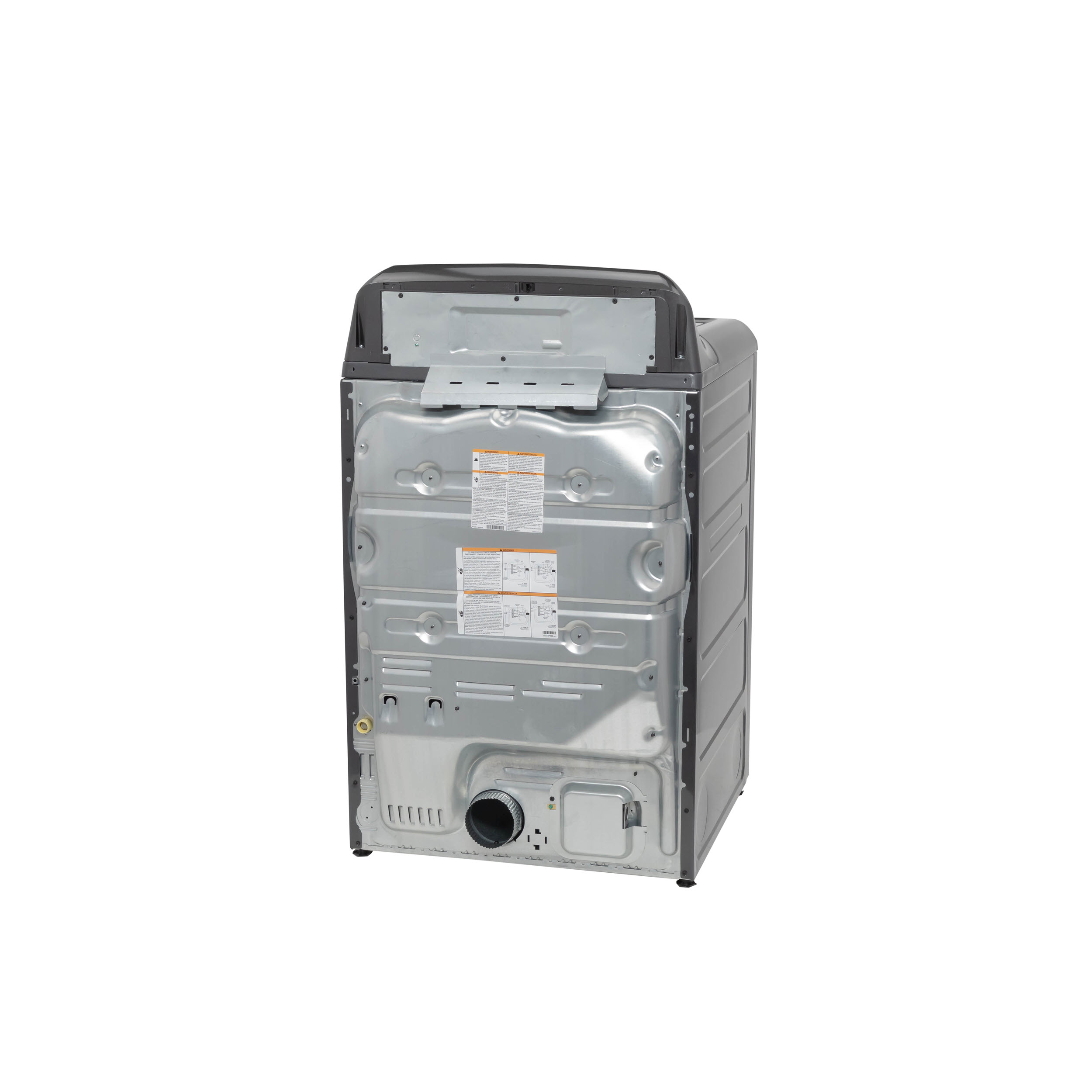 Model: GTD84ECPNDG | GE GE® 7.4 cu. ft. Capacity Smart aluminized alloy drum Electric Dryer with Sanitize Cycle and Sensor Dry