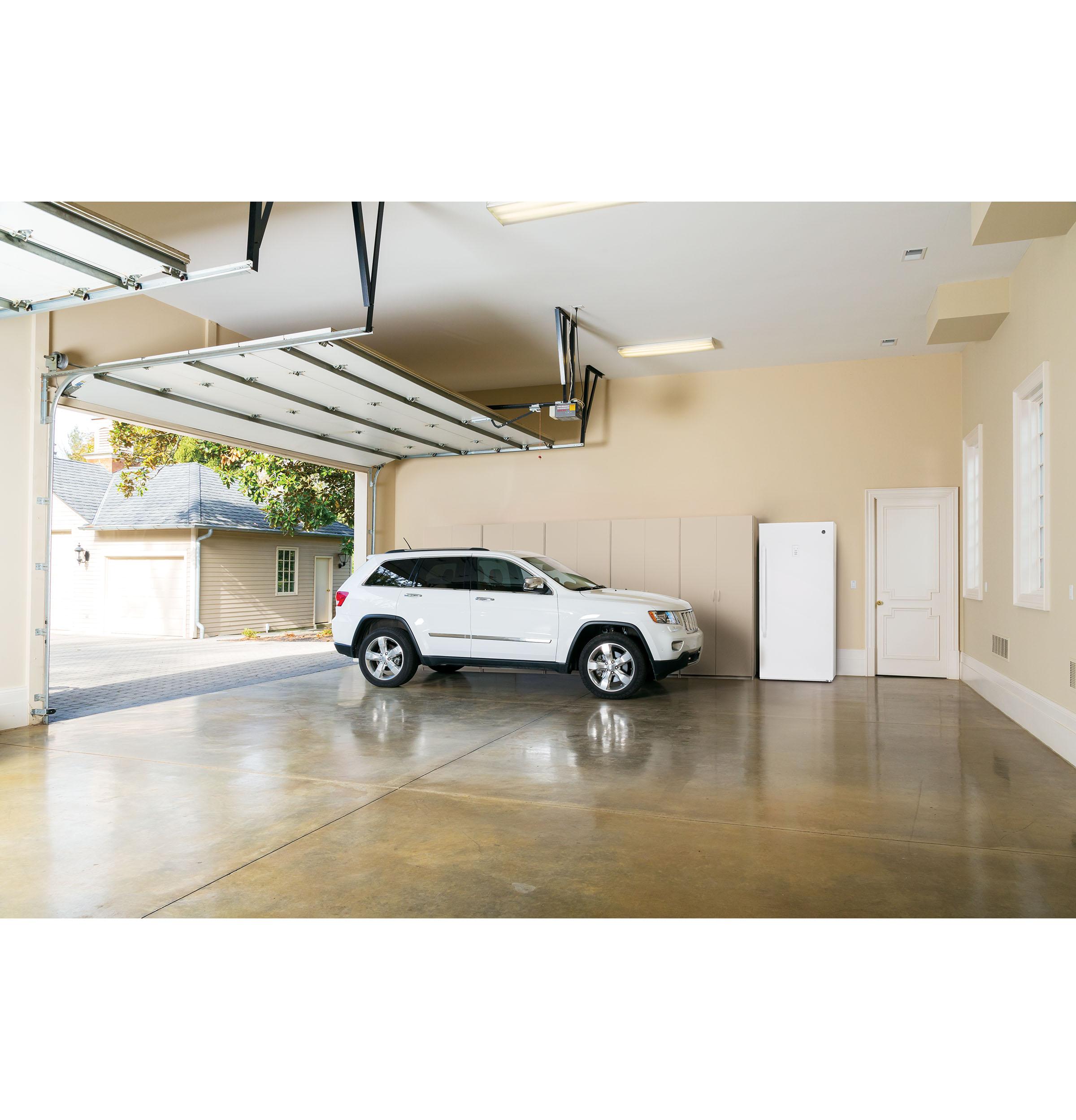 Model: FUF14SMRWW   GE GE® 14.1 Cu. Ft. Frost-Free Garage Ready Upright Freezer