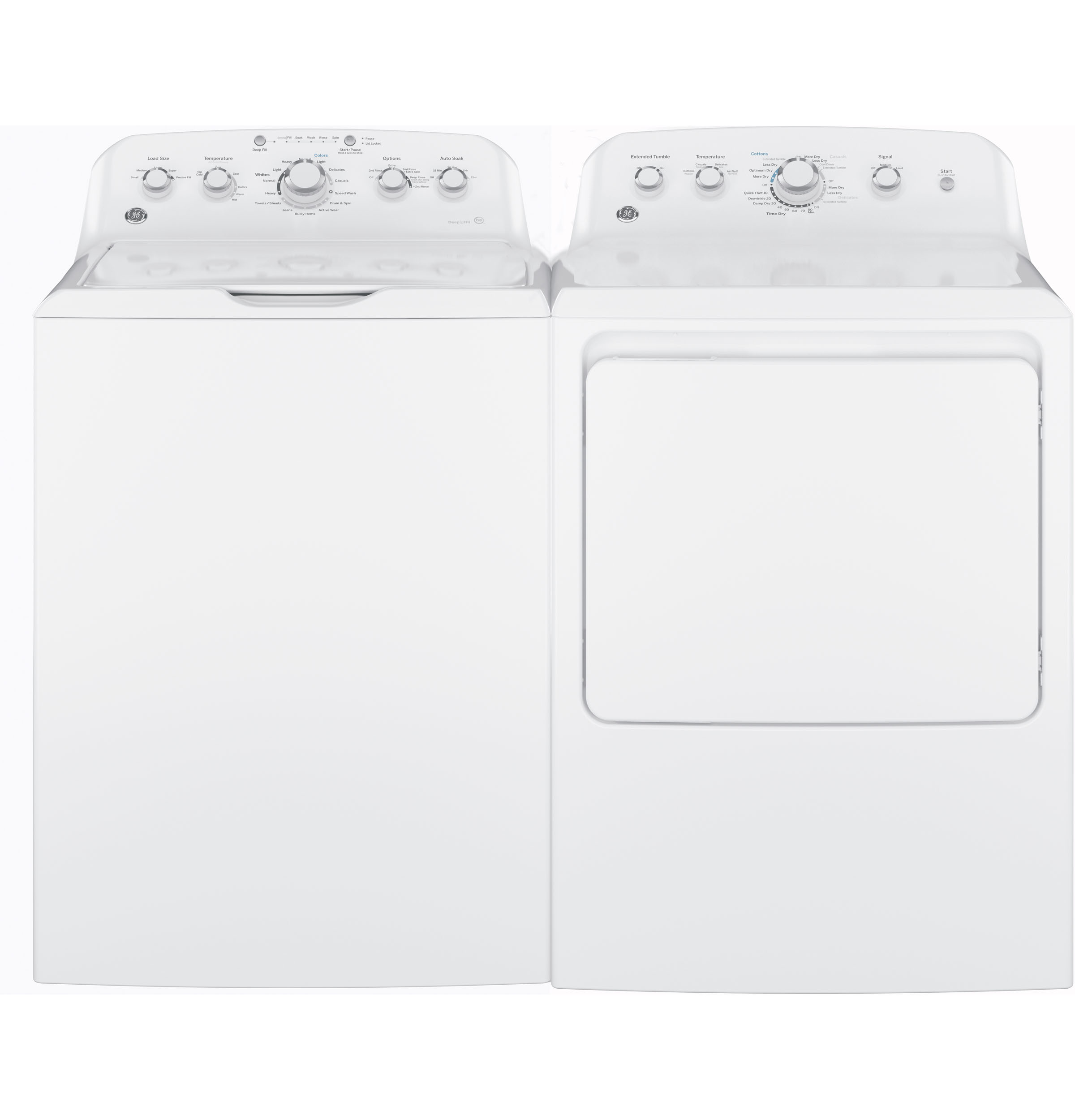 Model: GTD42EASJWW   GE GE® 7.2 cu. ft. Capacity aluminized alloy drum Electric Dryer