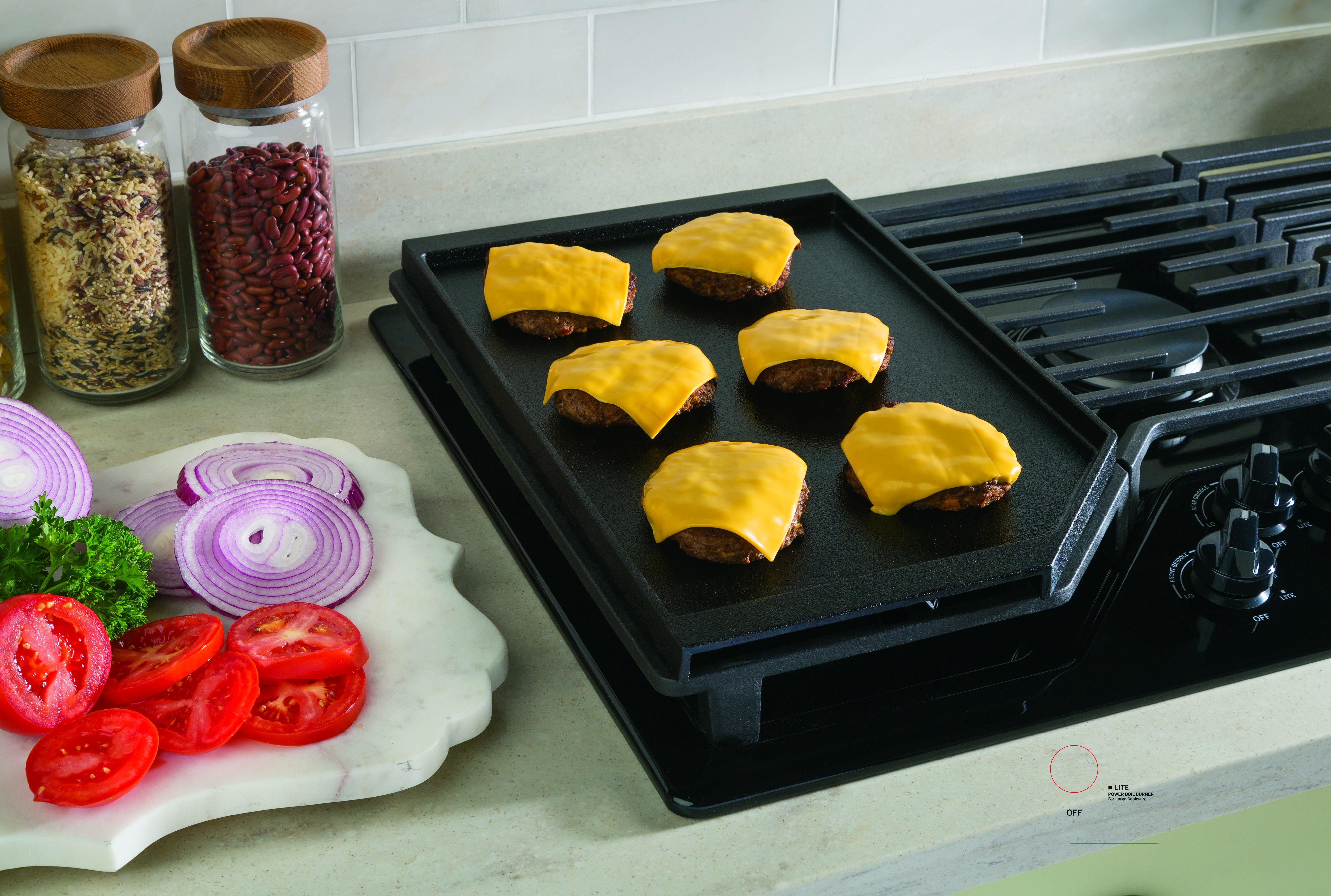 "Model: JGP5036DLBB | GE GE® 36"" Built-In Gas Cooktop with 5 Burners and Dishwasher Safe Grates"