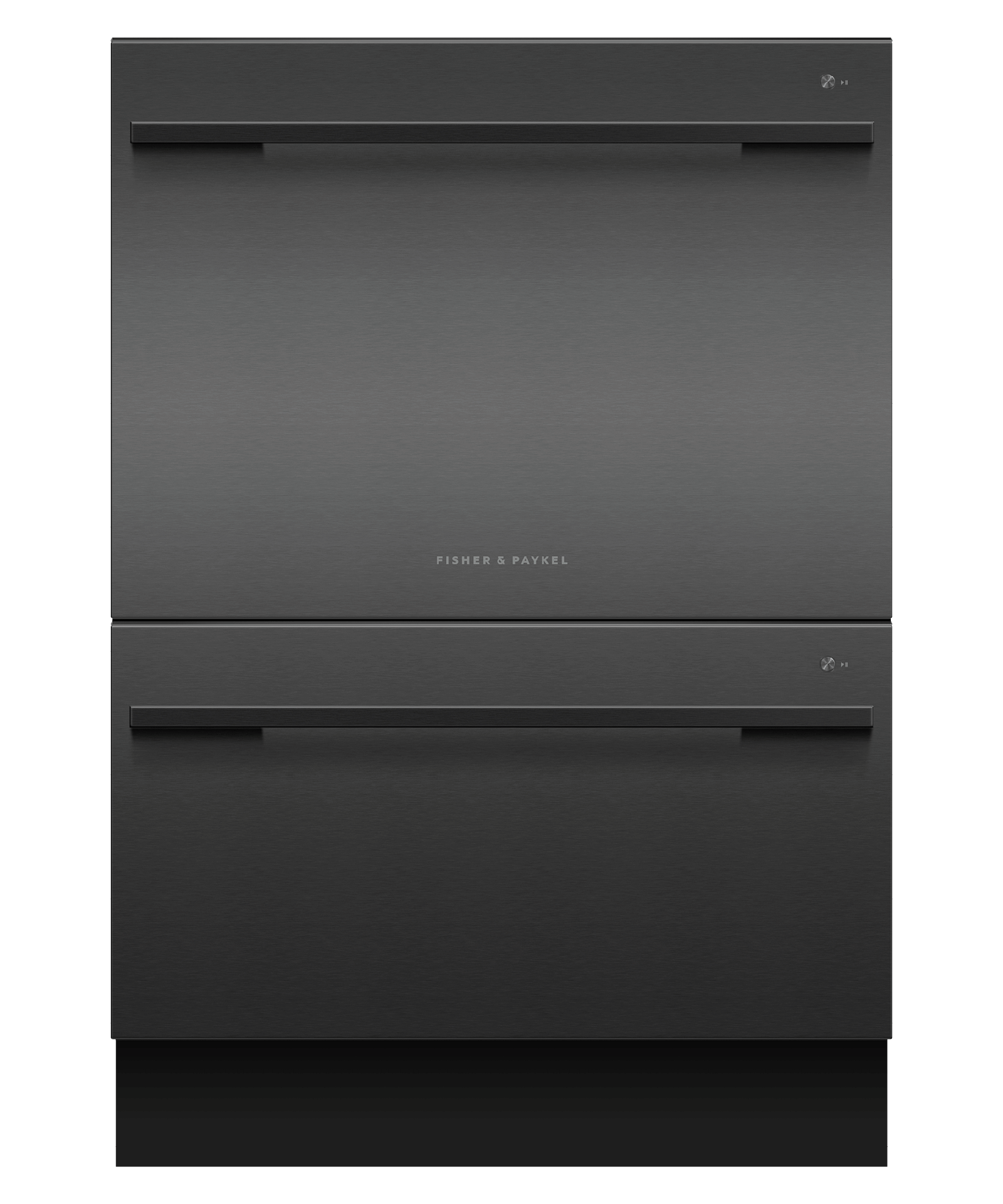 Model: DD24DDFTB9_N | Fisher and Paykel Double DishDrawer™ Dishwasher, Tall, Sanitize