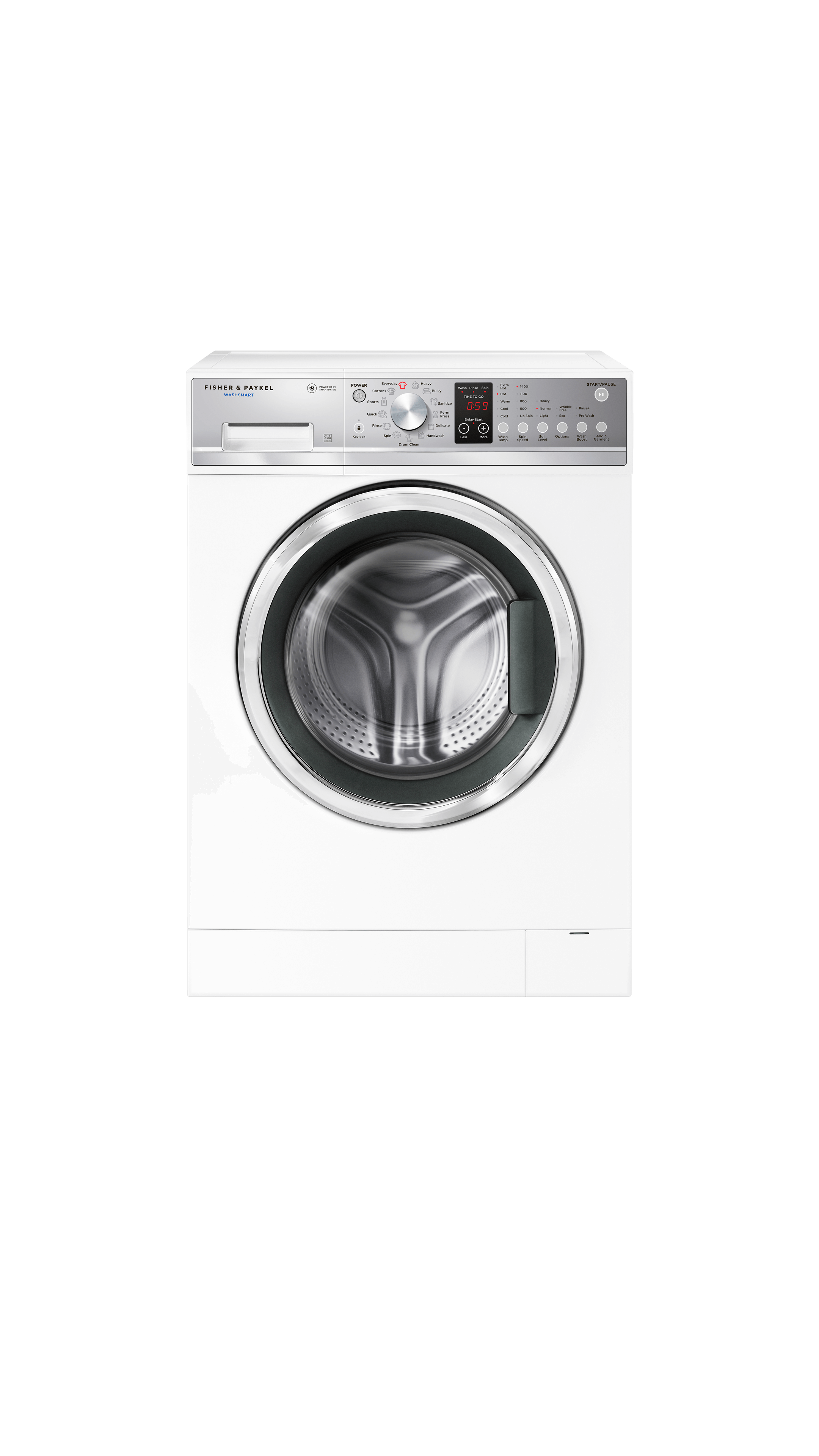 Model: WH2424P2 | Fisher and Paykel Front Load Washer, 2.4 cu ft