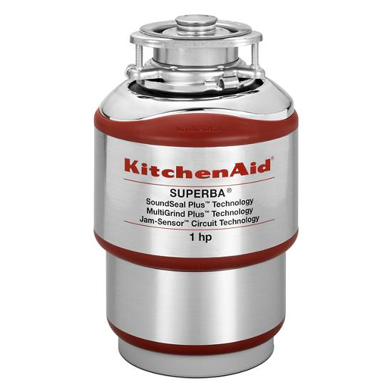 Model: KCDS100T | KitchenAid 1-Horsepower  Continuous Feed Food Waste Disposer