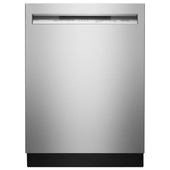 KitchenAid 46 DBA Dishwasher with ProWash™ Cycle and PrintShield™ Finish, Front Control