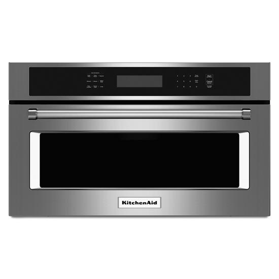 """KitchenAid 27"""" Built In Microwave Oven with Convection Cooking"""