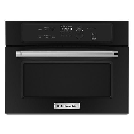 """KitchenAid 24"""" Built In Microwave Oven with 1000 Watt Cooking"""