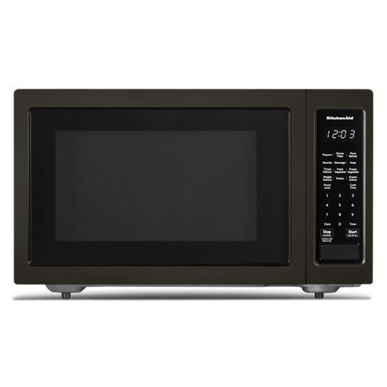 "KitchenAid 21 3/4"" Countertop Microwave Oven with PrintShield™ Finish - 1200 Watt"