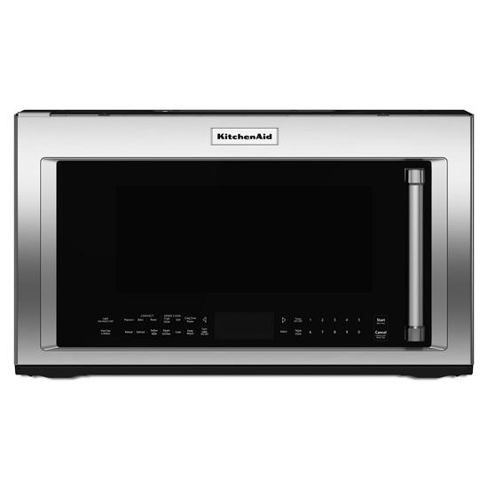 """KitchenAid 30"""" 1200-Watt Microwave Hood Combination with Convection Cooking"""