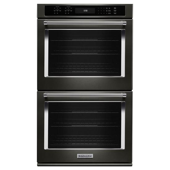 """KitchenAid 27"""" Double Wall Oven with Even-Heat™  True Convection"""