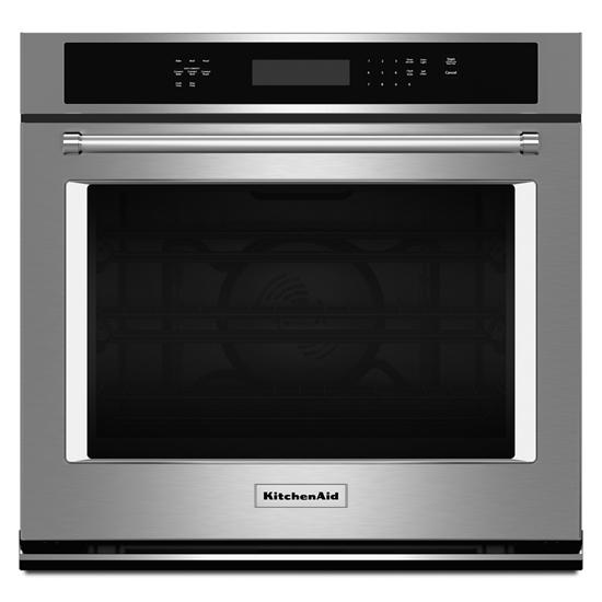 """KitchenAid 27"""" Single Wall Oven with Even-Heat™ True Convection"""