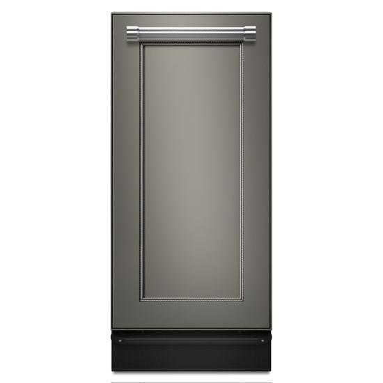 Model: KTTS505EPA | KitchenAid 1.4 Cu. Ft. Panel-Ready Built-In Trash Compactor