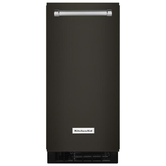 Model: KUIX535HBS | KitchenAid KitchenAid® 15'' Automatic Ice Maker with PrintShield™ Finish