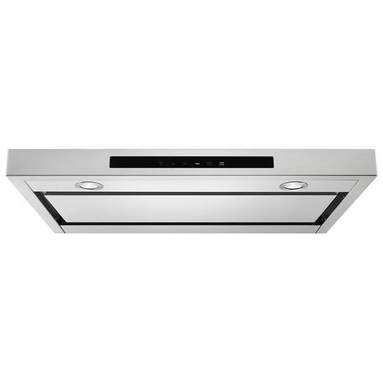 "Model: KVUB400GSS | KitchenAid 30"" Low Profile Under-Cabinet Ventilation Hood"