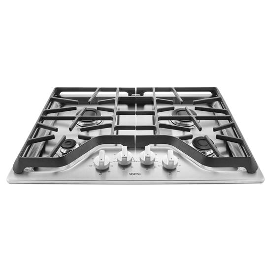 Model: MGC7430DS   Maytag 30-inch Wide Gas Cooktop with Power™ Burner