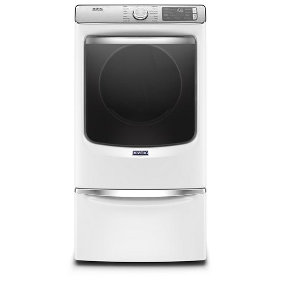 Model: MGD8630HW   Maytag Smart Front Load Gas Dryer with Extra Power and Advanced Moisture Sensing Plus - 7.3 cu. ft.