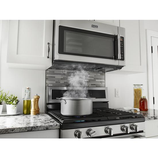 Model: MGR8800FZ   Maytag 30-Inch Wide Gas Range With True Convection And Power Preheat - 5.8 Cu. Ft.