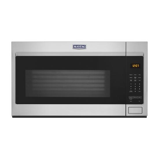Model: MMV1175JZ | Maytag Over-the-Range Microwave with stainless steel cavity - 1.7 cu. ft.